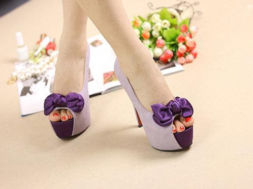 Sapato Peep Toe Debutantes Fenomenal