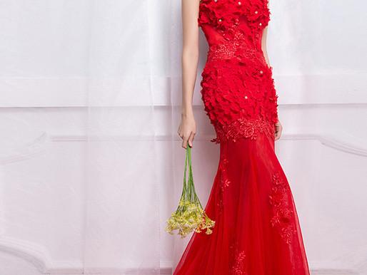 Porque devo escolher meu vestido de noiva na cor vermelho ?
