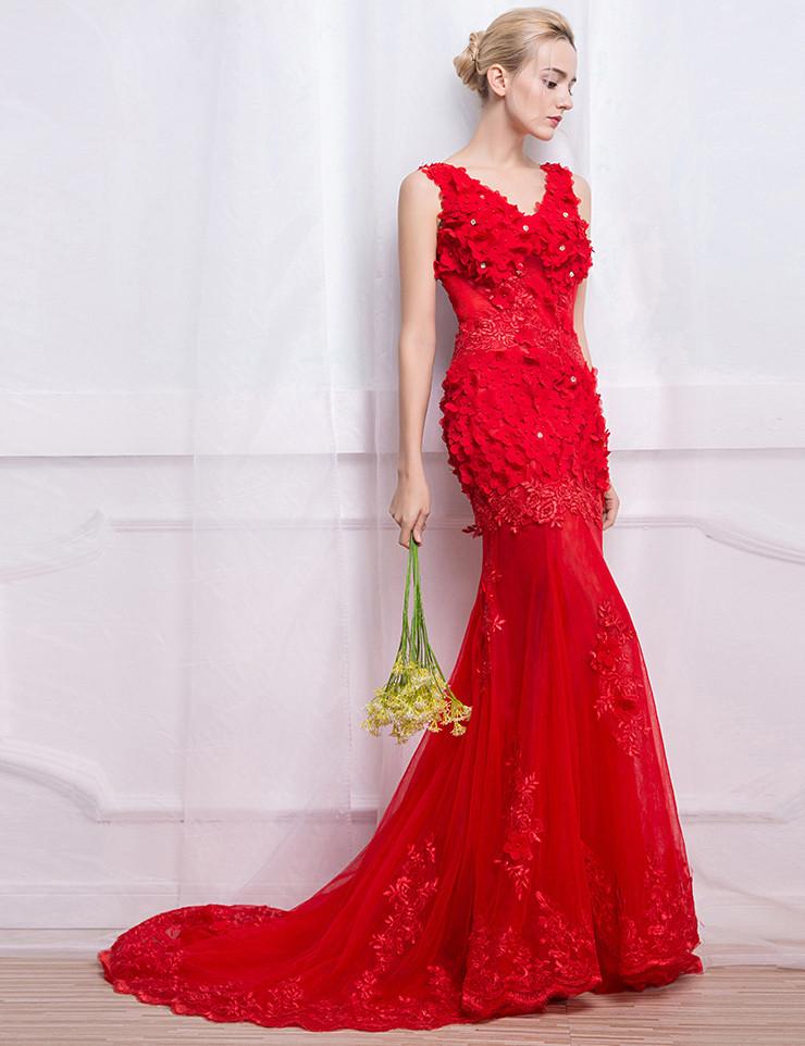 como escolher seu vestido de noiva vermelho