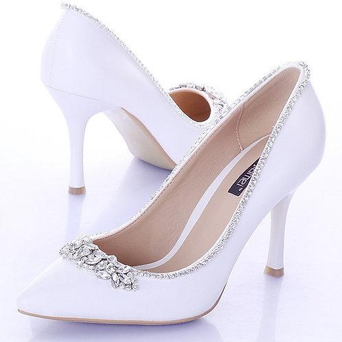 Sapato Scarpins Noiva Saliência