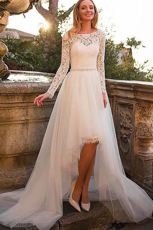 Vestido De Noiva 2 Em 1 Equilíbrio