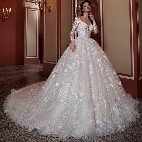 Vestido De Noiva Cauda Catedral Definida