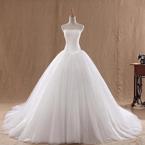 Vestido de Noiva Tomara Que Caia Celestial