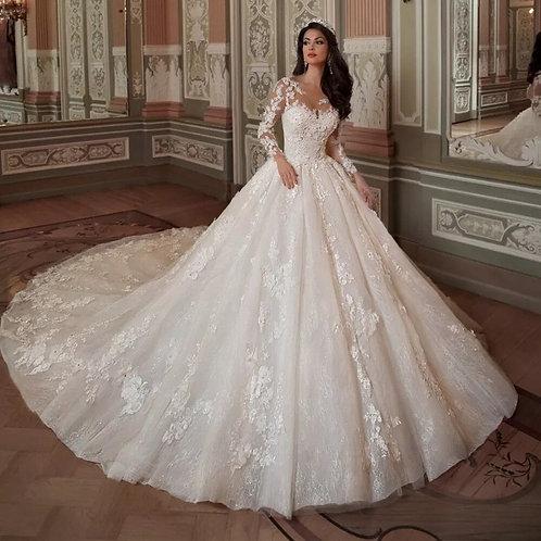 Vestido De Noiva Catedral Serenidade