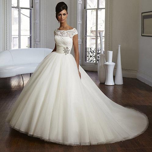 Vestido de Noiva Sonho de Princesa Com Anágua
