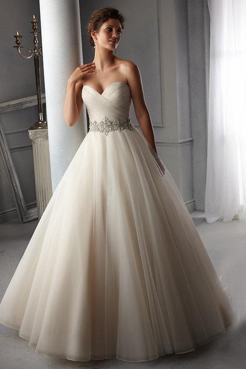 Vestido de Noiva Tomara Que Caia Destaque