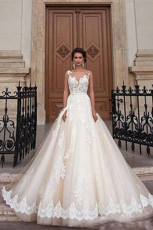 Vestido De Noiva Princesa Nascimento