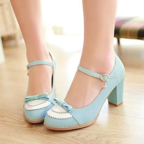 Sapato Mary Jane Charm