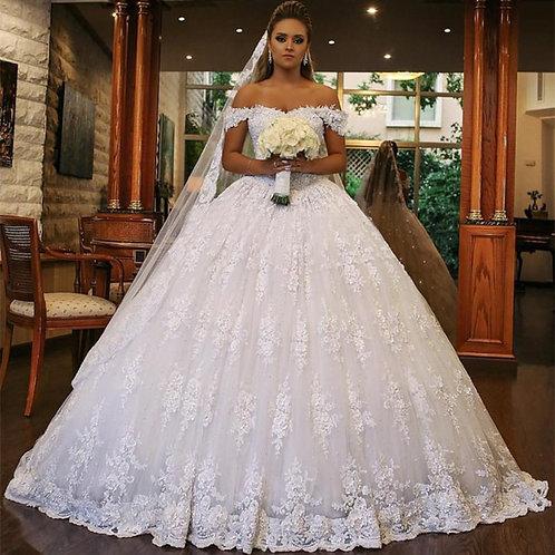 Vestido De Noiva Princesa Constelação