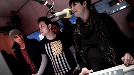 PROSA zu Besuch bei FM4