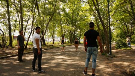 Wandertag im Lainzer Tiergarten