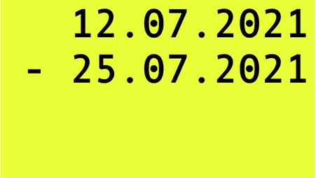Anmeldephase WINTERSEMESTER 2021/22