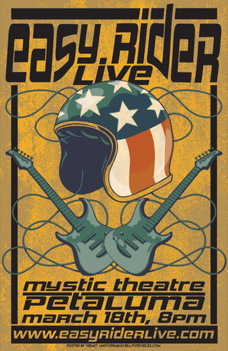 Easy Rider Live Poster