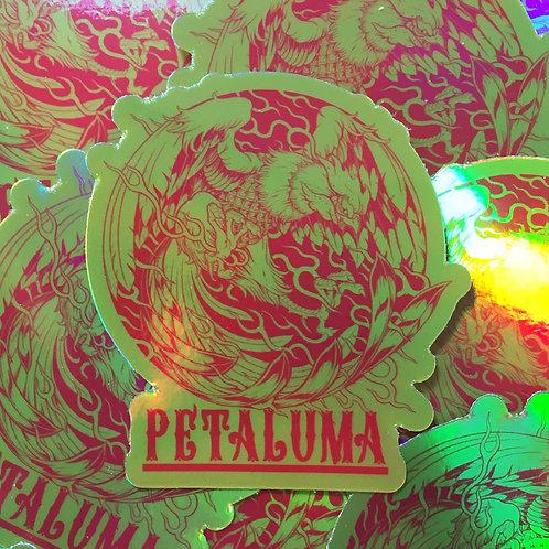 PETALUMA CHICKEN STICKER