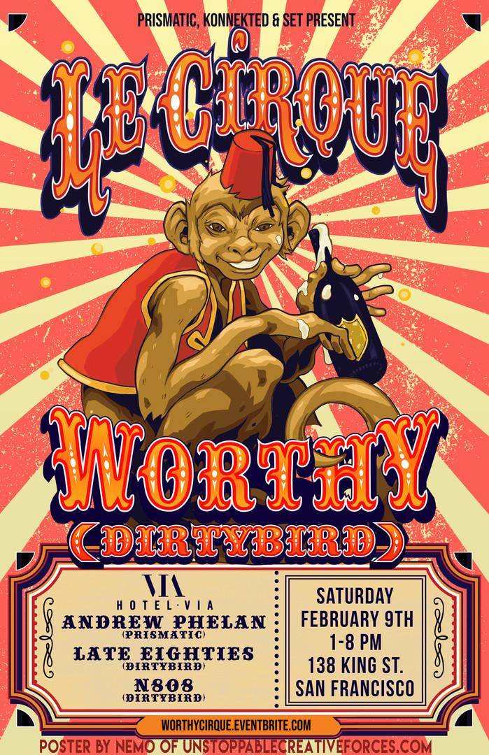 Le Cirque Poster