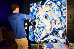 Live Painting - SOLD
