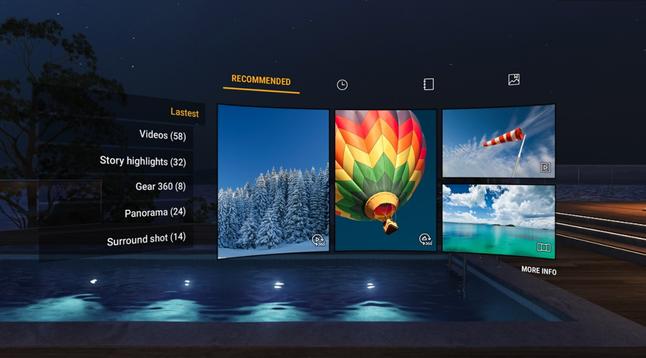 Samsung VR Gallery