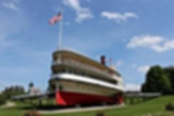 Shelburne Museum Ticonderoga Steamboat S