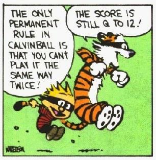 Calvinball Blog