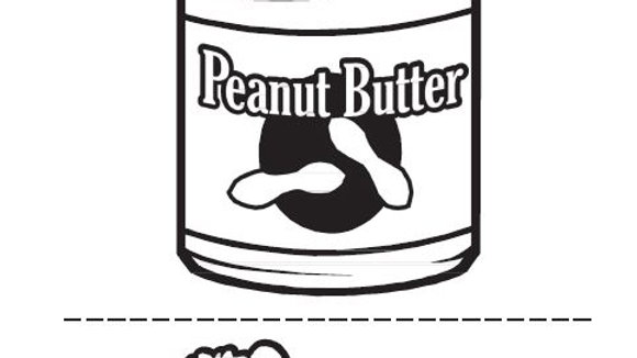Peanut Butter Kid Activity Sheet