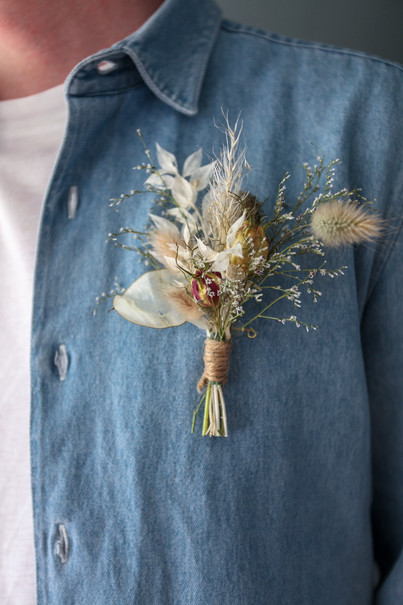 Dried Flower Buttonholes