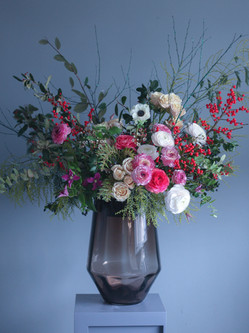 Giant vase arrangement