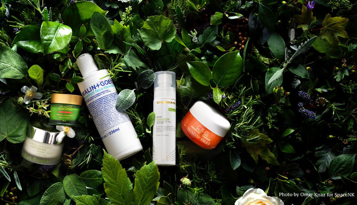 Space NK - Botanical Beauty Campaign