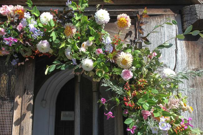 Church Flower Arch
