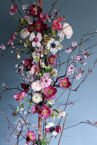 Spring Floral Arch