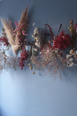 Dried Flower Wall
