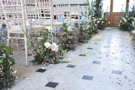 Meadow Wedding Aisle