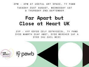 Far Apart UK Workshops with Natasha Borton