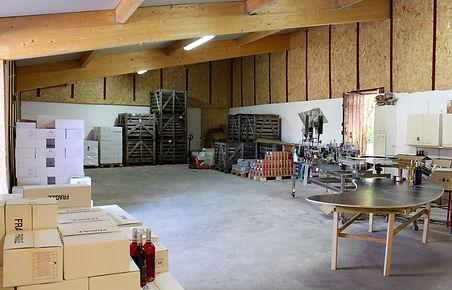 rénovation du chai vignobles ricard