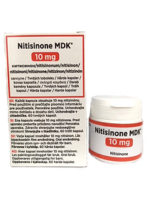 Nitisinon Bottle  Box 10 mg.png