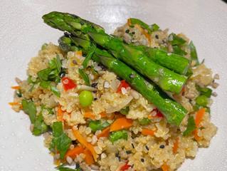 Garden Quinoa Risotto