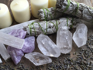 How to cleanse your crystals