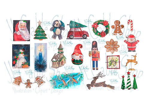 Clip art: Navidad