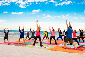 Yoga on Siesta Key...