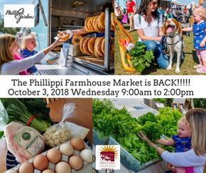 It's BACK!!!  Phillippi Farmhouse Market