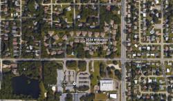 Aerial of Wilkinson Woods