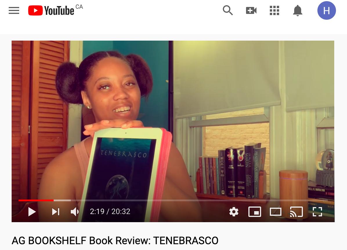 AG Bookshelf YouTube