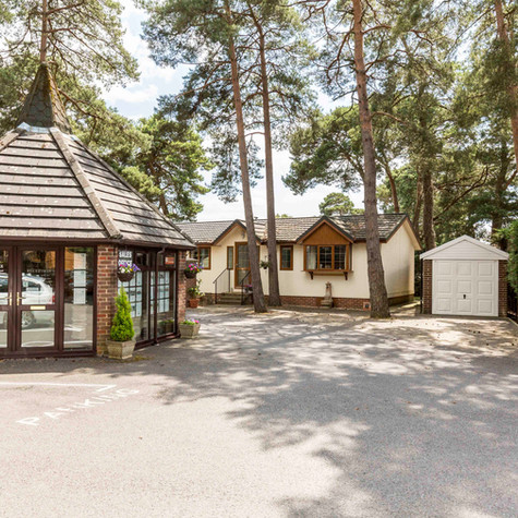 Tall Trees Park Homes & Lodges in Matchams Lane, Dorset