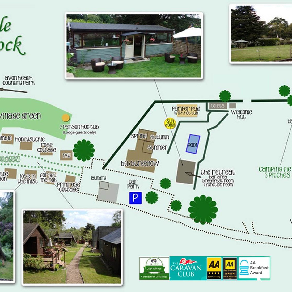Little Paddock CL site and Holiday Lodge business