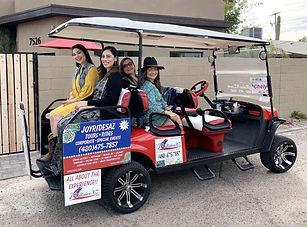 Old Town Golf Cart