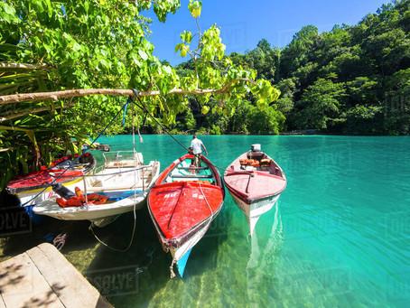 The Best Beaches in Jamaica: The Blue Lagoon, Port Antonio, Portland