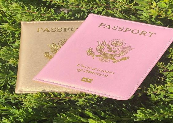 Keep track of everyone's passports by placing them in unique passport holders.
