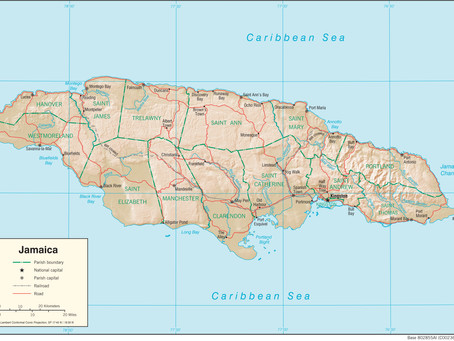 Attractions of Jamaica: Rafting on the Martha Brae
