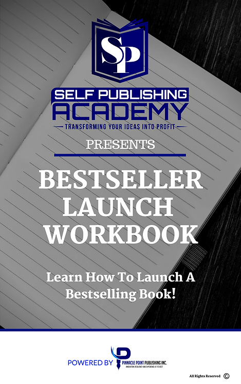 Book Bestseller Launch Workbook