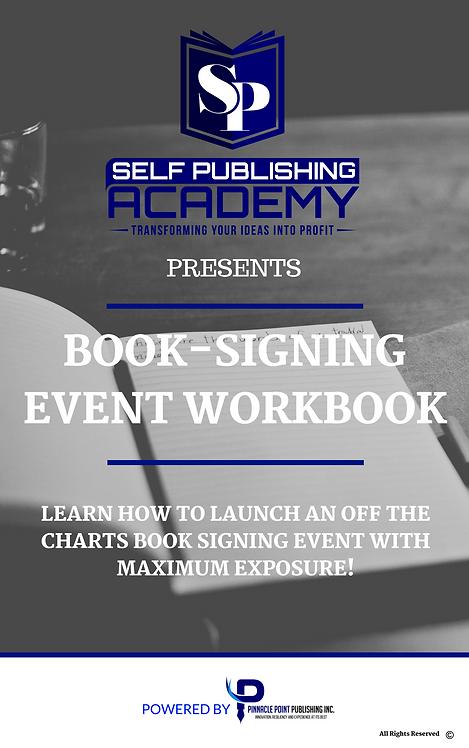 Book Signing Workbook