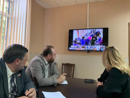 Круглый стол с участием Приволжского транспортного прокурора и его заместителей